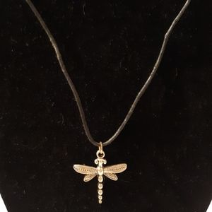 "Jewelry - 29"" Handmade Dragonfly Necklace"